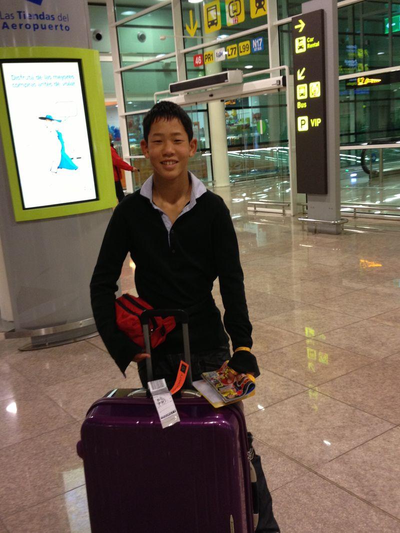 Takuki arrival