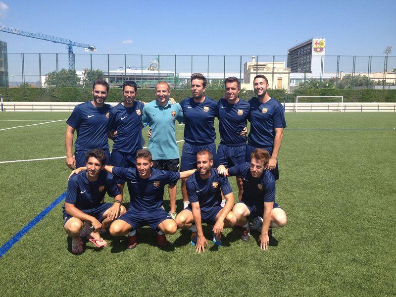 Foto monitores FCB Camp Taiga